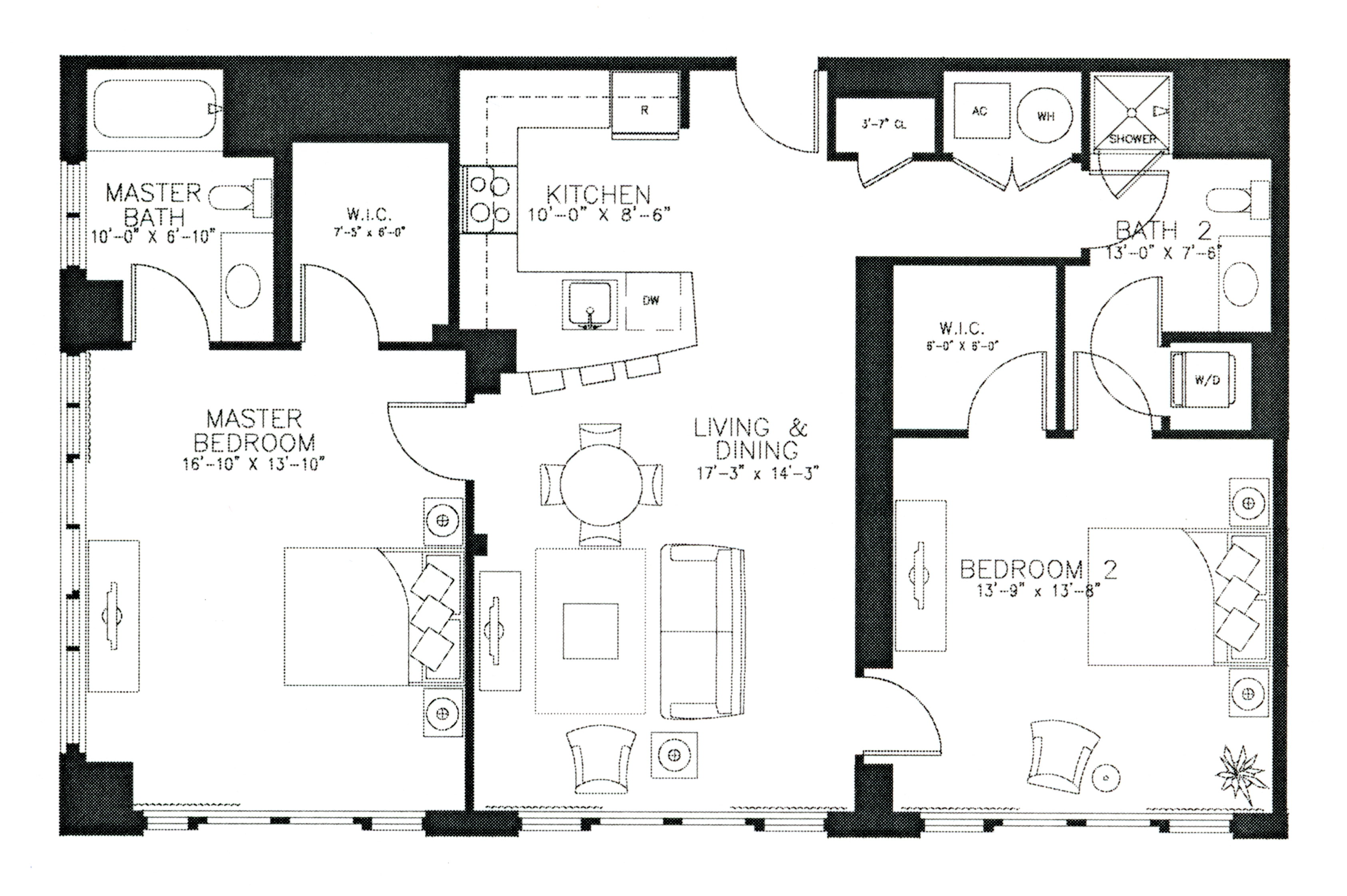 Gemresidences additionally Floor Plans moreover Michael Janzens Tiny House Floor Plans together with 2BCondo besides Harbour Plaza Condos. on 1 bedroom condo